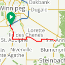Map image of a Route from April 26, 2014