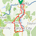Map image of a Route from April 30, 2014