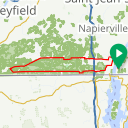Map image of a Route from May  9, 2014