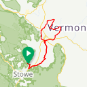 Map image of a Route from May 15, 2014