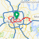 Map image of a Route from May 21, 2014
