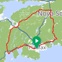 Map image of a Route from May 26, 2014