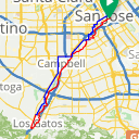 Map image of a Route from May 29, 2014