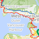 Map image of a Route from May 31, 2014