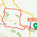 Map image of a Route from June  3, 2014