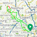 Map image of a Route from June  8, 2014