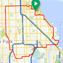 Map image of a Route from June 18, 2014