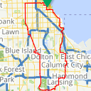 Map image of a Route from June 19, 2014