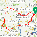 Map image of a Route from July  2, 2014