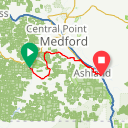 Map image of a Route from July 20, 2014