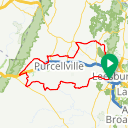 Map image of a Route from August 14, 2014