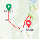 Map image of a Route from August 16, 2014