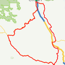Map image of a Route from August 18, 2014