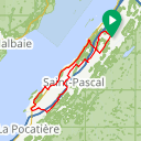Map image of a Route from August 24, 2014