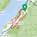 Map image of a Route from August 25, 2014