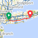 Map image of a Route from August 27, 2014