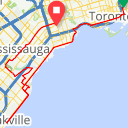 Map image of a Route from August 31, 2014