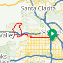 Map image of a Route from September  3, 2014