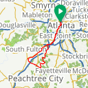 Map image of a Route from September  6, 2014