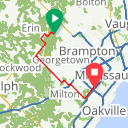 Map image of a Route from September 12, 2014