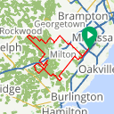 Map image of a Route from September 16, 2014