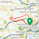 Map image of a Route from September 17, 2014