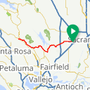 Map image of a Route from September 30, 2014