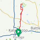 Map image of a Route from October  8, 2014