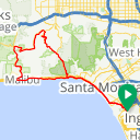 Map image of a Route from October 16, 2014