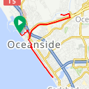 Map image of a Route from October 20, 2014