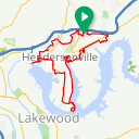 Map image of a Route from October 22, 2014