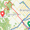 Map image of a Route from October 24, 2014