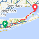 Map image of a Route from October 30, 2014