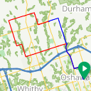 Map image of a Route from November  5, 2014
