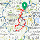 Map image of a Route from November  7, 2014