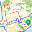 Map image of a Route from November 14, 2014