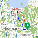 Map image of a Route from November 16, 2014