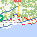 Map image of a Route from November 28, 2014