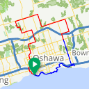 Map image of a Route from December  2, 2014