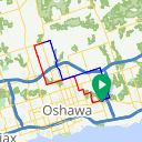 Map image of a Route from December  4, 2014