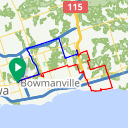 Map image of a Route from December  5, 2014