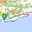 Map image of a Route from December 15, 2014