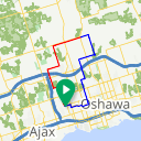 Map image of a Route from December 22, 2014