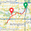Map image of a Route from January  4, 2015