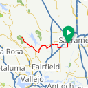 Map image of a Route from January  5, 2015