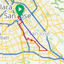 Map image of a Route from January  6, 2015