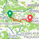 Map image of a Route from January  9, 2015