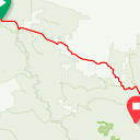 Map image of a Route from January 21, 2015