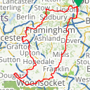 Map image of a Route from February  4, 2015