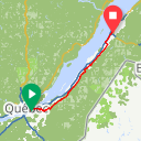Map image of a Route from February  7, 2015
